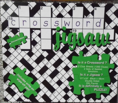 550 Crossword Jigsaw Second Edition Jigsaw Wiki