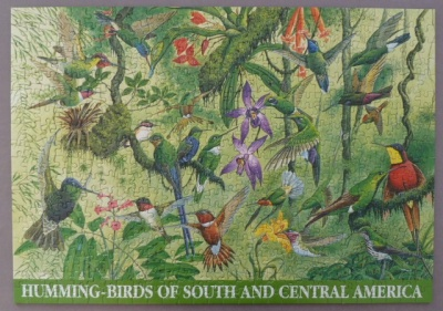 500 Humming-Birds of South and Central America - Jigsaw-Wiki on