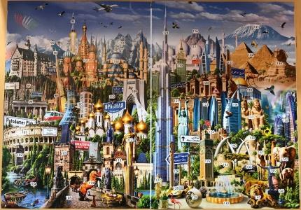 42000 Around the World - Jigsaw-Wiki